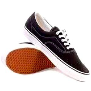 Airwalk Classic Black Canvas Skater Shoe